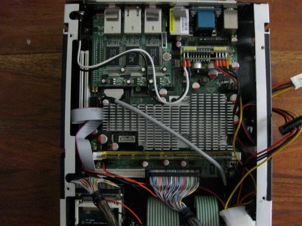 Jetway motherboard inside