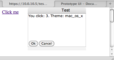 Prototype-UI dialog