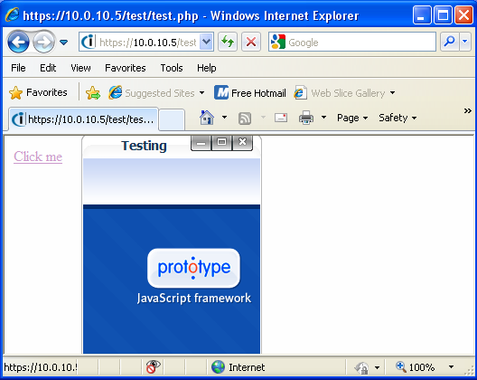 Prototype-ui screenshot