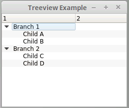 PyQt: How to hide top level nodes in tree view | Joe Kuan