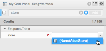 Sencha Architect: How to use ViewModel to Bind Store into